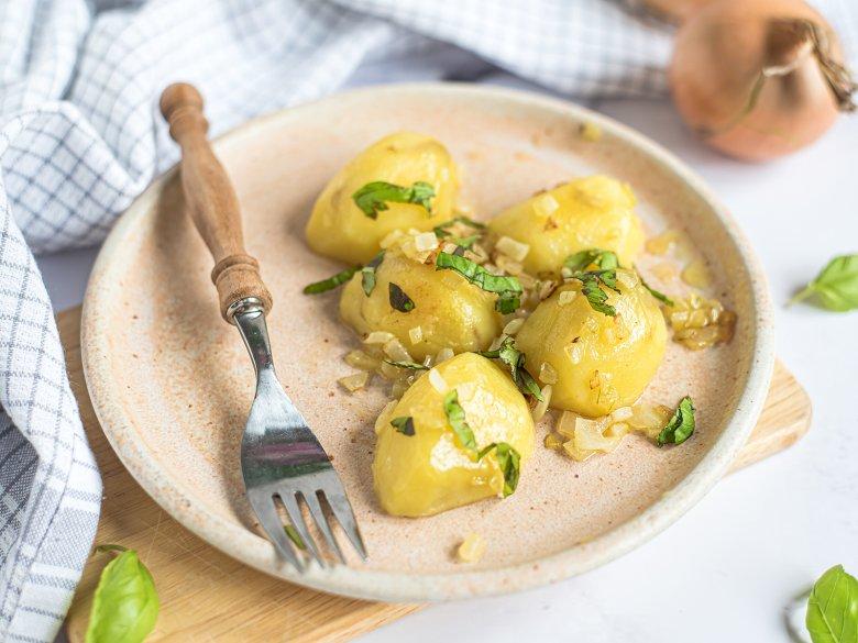 Basilikum-Kartoffeln