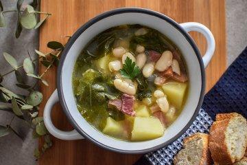 Galicische Bohnensuppe
