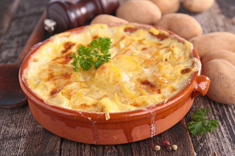 Kartoffelgratin ganz schnell