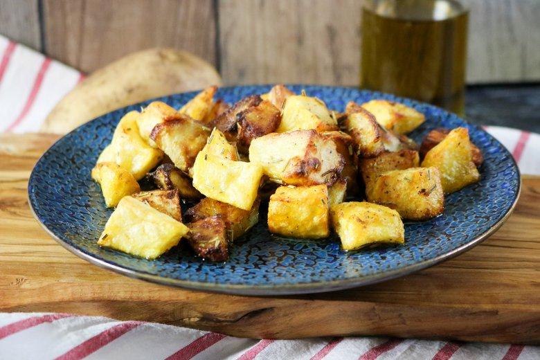 Ofenkartoffeln mit Rosmarin und Zitrone