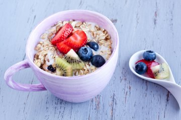 Obst-Joghurt-Müsli