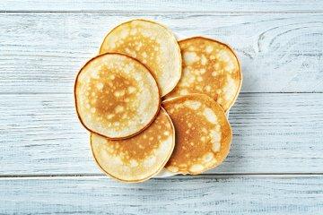 Pfannkuchen ohne Zucker