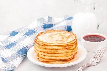 Pfannkuchen mit Quark