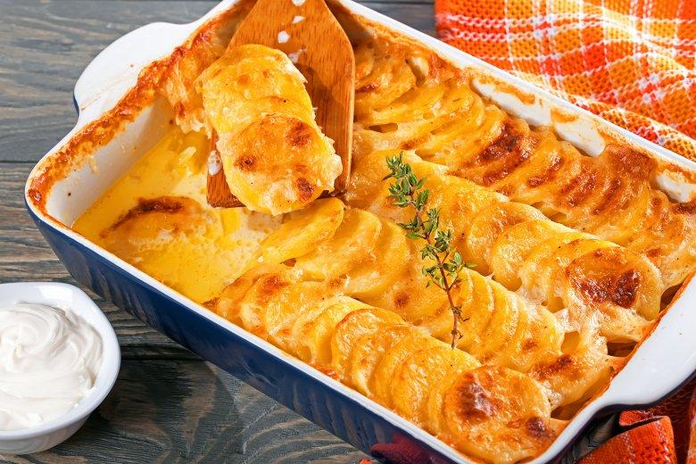 Veganes Kartoffelgratin