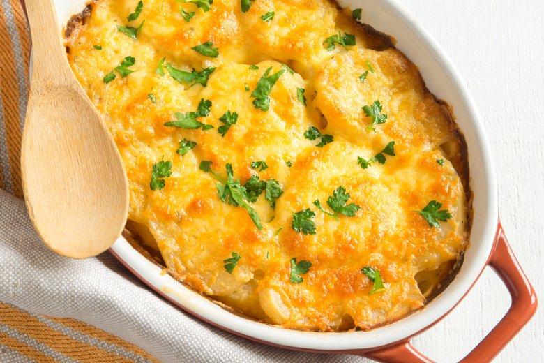 Kartoffelgratin ohne Ei