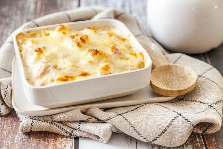 Blumenkohl-Kartoffelgratin