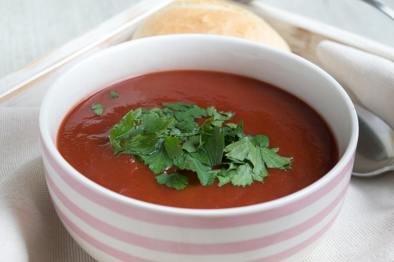 Low Carb-Tomatensuppe