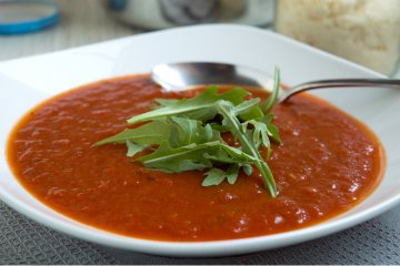Tomatensuppe ohne Sahne