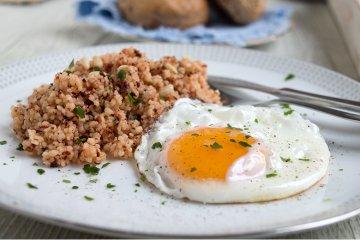Couscous mit Ei