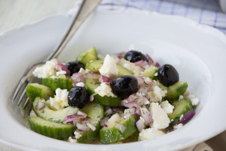 Griechischer Gurkensalat