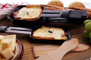 Kartoffel-Käse-Raclette