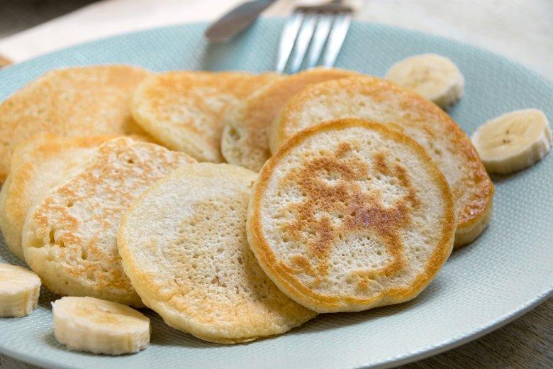 Bananenpfannkuchen mit Kokos