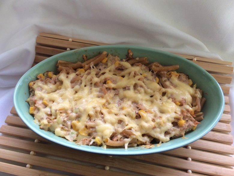 Thunfisch-Pasta-Auflauf