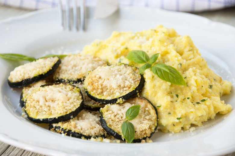Polenta mit Zucchini