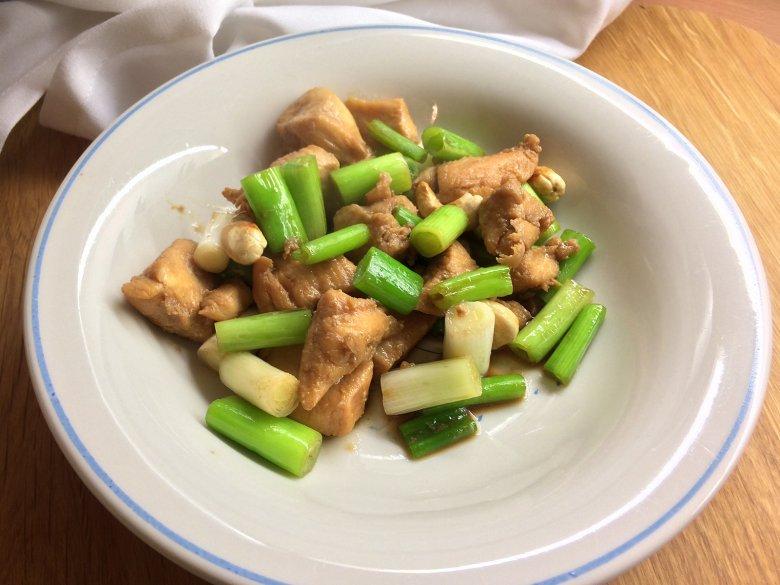 Hähnchenpfanne mit Cashewnüssen aus dem Wok