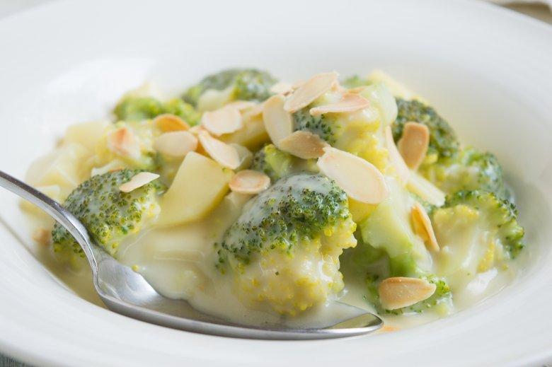 Rahmkartoffeln mit Brokkoli
