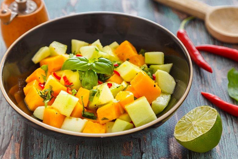 Mango-Gurkensalat