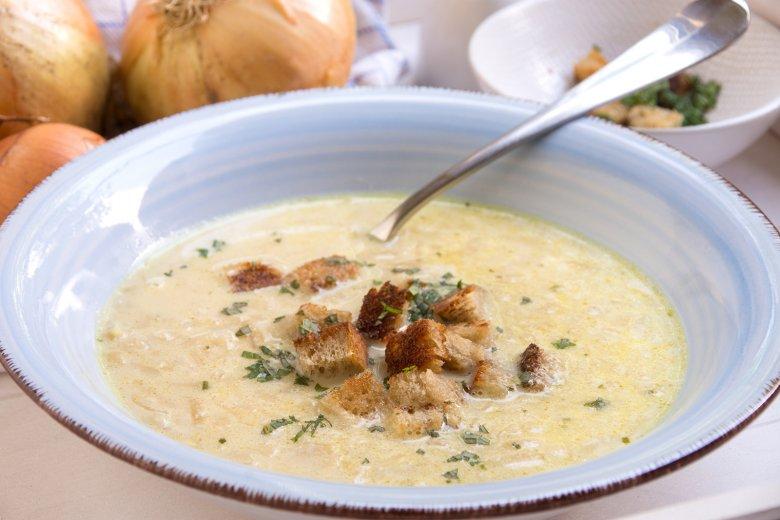 Sorbische Zwiebelsuppe