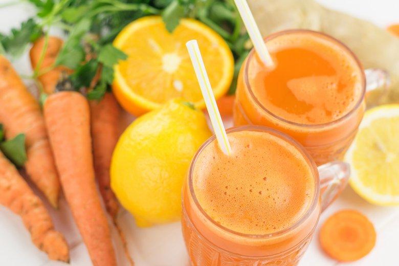 Möhren-Orangen-Smoothie