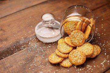 Cracker ohne Ei
