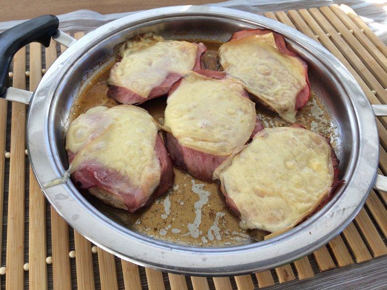 Schinken-Käse-Schnitzel