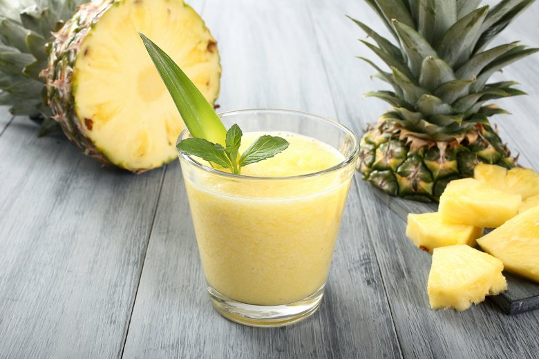 Cremiger Ananas-Smoothie