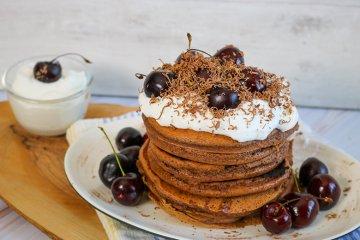 """Pancakes """"Schwarzwälder Kirsch"""""""