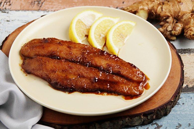 Ingwer-Fisch mit Sojasauce