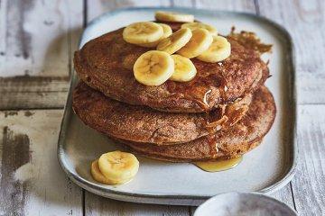 Bananen-Pfannkuchen