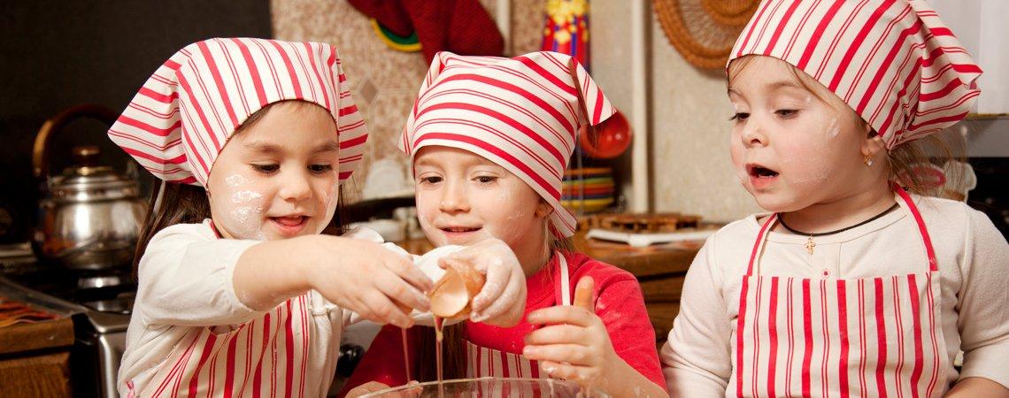 Kochen mit Kindern - Rezepte
